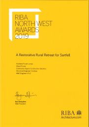 2019 RIBA North West Regional Award - Sartfell