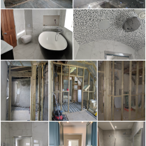 Maughold Bathrooms Before and After