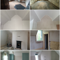 Maughold Guest Bedrooms Before and After