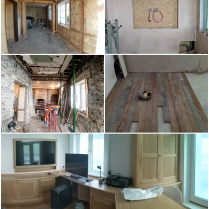 Maughold Office Before and After